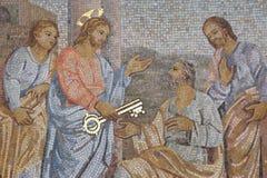 Dekoracyjna mozaika obrazy royalty free