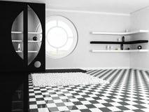 Dekoracyjna nisza i półki, okno ilustracja wektor