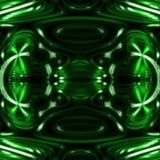 Dekoracyjna płytka bezszwowy wzór z abstrakcjonistycznymi falistymi kształtami Zdjęcia Stock
