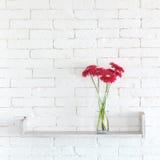 Dekoracyjna półka Zdjęcie Stock