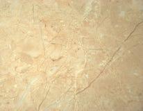 Dekoracyjna powierzchnia, beżu marmur z białymi żyłami zakończenie strzał zdjęcie royalty free