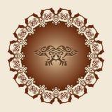 dekoracyjna rama Zdjęcie Royalty Free
