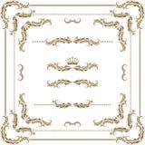 dekoracyjna rama Zdjęcia Stock
