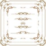 dekoracyjna rama Obrazy Royalty Free