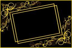 Dekoracyjna rama Zdjęcia Royalty Free