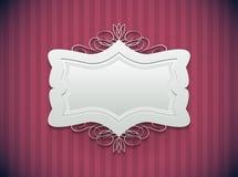 Dekoracyjna rama royalty ilustracja