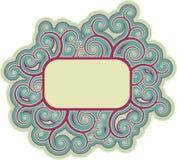 dekoracyjna rama Fotografia Royalty Free