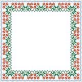 Dekoracyjna rama Ornament krzyż Zdjęcia Stock