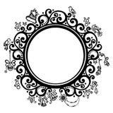 Dekoracyjna Round rama royalty ilustracja
