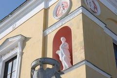 dekoracyjna rzeźba Zdjęcia Royalty Free