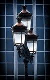 Dekoracyjna stara lampa Zdjęcia Royalty Free