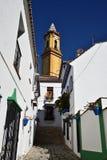 Dekoracyjna ulica w Estepona Zdjęcie Royalty Free