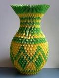 Dekoracyjna waza na stole Obraz Royalty Free