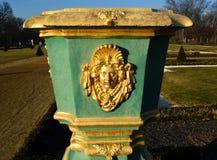 Dekoracyjna waza przy Charlottenburg kasztelem w Berlin Zdjęcie Royalty Free