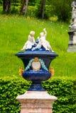 Dekoracyjna waza w Linderhof pałac w Bavaria, Niemcy Zdjęcia Stock