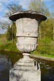 Dekoracyjna waza w Pavlovsk parku Fotografia Stock