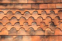 Dekoracyjne dachowe płytki zdjęcia royalty free