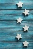 dekoracyjne gwiazdy Zdjęcie Royalty Free