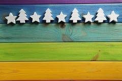 dekoracyjne gwiazdy Zdjęcia Royalty Free