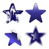 dekoracyjne gwiazdy Obraz Royalty Free