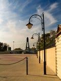 dekoracyjne lamp ulicznych zdjęcie stock