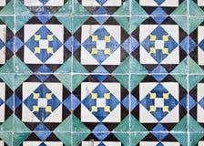 Dekoracyjne płytki (Azulejos) zdjęcia stock