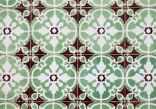 Dekoracyjne płytki (Azulejos) obraz stock