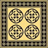 dekoracyjne płytki Zdjęcie Royalty Free