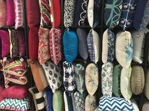 Dekoracyjne poduszki obrazy stock