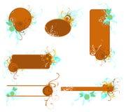 dekoracyjne ramy Zdjęcie Royalty Free