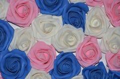 dekoracyjne tło róże Fotografia Royalty Free