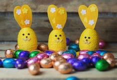 Dekoracyjne Wielkanocne zając Fotografia Stock