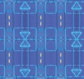 Dekoracyjnego abstrakcjonistycznego jaskrawego tło wzoru tekstury geometryczna Tapetowa tkanina Obraz Stock