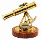 Dekoracyjnego astrolabium boczny widok Obrazy Stock