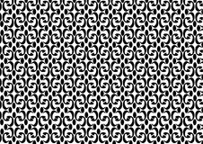 Dekoracyjnego Bezszwowego Deseniowego Wektorowego tło rocznika czołowa tekstura czarny i biały zdjęcia royalty free