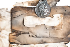 dekoracyjnego elementu stary paperwith Zdjęcia Stock