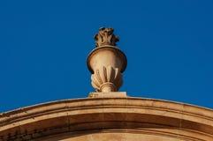 Dekoracyjnego kamienia elementu rzeźba Obraz Royalty Free