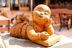 Dekoracyjnego kamienia statua zdjęcia stock