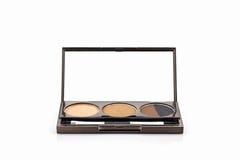Dekoracyjnego kosmetyka ustalony eyeshadow Zdjęcie Stock
