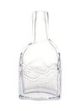 dekoracyjnego szkła odosobniony wazowy biel Fotografia Royalty Free