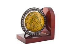 dekoracyjnej kuli ziemskiej odosobniony stary Obrazy Royalty Free