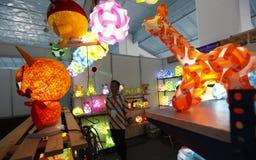 dekoracyjni światła Zdjęcie Stock