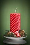 dekoracyjni świeczek boże narodzenia Obraz Stock