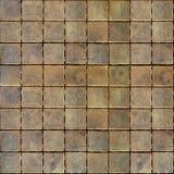 Dekoracyjni drewniani bloki bezszwowy tło - w kratkę wzór - Obraz Stock