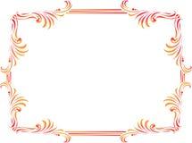 dekoracyjni granica kąty Obraz Royalty Free