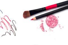Dekoracyjni kosmetyki Fotografia Stock