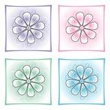 dekoracyjni kwiaty Fotografia Royalty Free