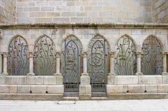 Dekoracyjni metali Archways obraz royalty free
