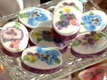 Dekoracyjni mydła obrazy royalty free