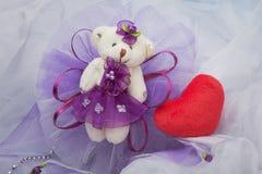 Dekoracyjni niedźwiedzie dekorować Fotografia Stock